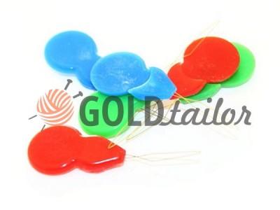 Купить Иголковдеватель пластиковый разноцветный малый в Украине оптом