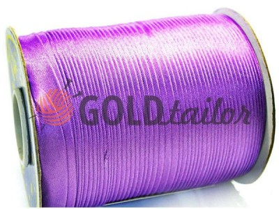 Buy at wholesale prices Bias binding Bias Star purple satin