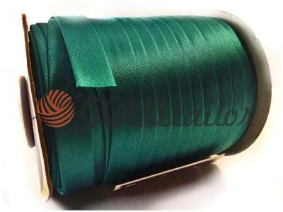 Купити Косая бейка Bias Star атласна темно-зелена найнижчі ціни
