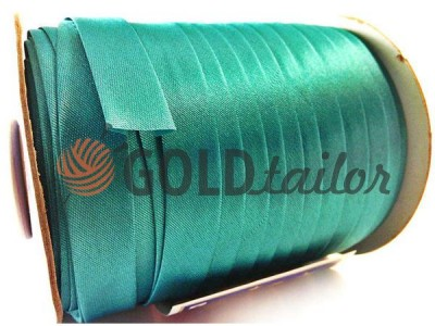 Buy Bias binding Bias Star Satin turquoise in Ukraine goldtailor