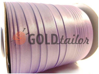 Bias binding Bias Star Satin dull lilac buy on goldtailor