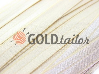 Коса бейка стрейчевая світло-бежева купити на goldtaior.com.ua
