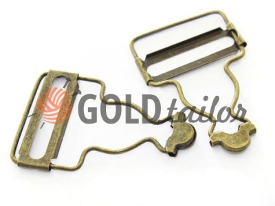 Carabiner button under the Loop Antique 33 mm buy wholesale in Ukraine