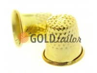 Наперсток металевий d = 17mm золото
