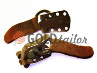 Clasp for coats Amll brown