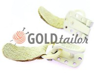 Clasp for coats Amll white