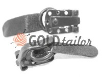 Clasp for coats Amll gray
