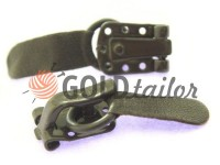 Clasp for coats Amll dark brown