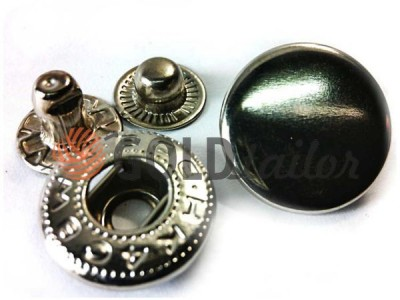 Buy button NEWstar-Alfa VT-2 smooth 9,5 mm Dark Nickel Turkey