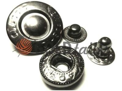 Buy wholesale Button Alfa Fashion 15 mm Dark Nickel China