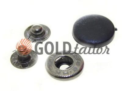 Купити Кнопка Alfa з чорною пластиковим капелюшком 15 mm оксид Китай