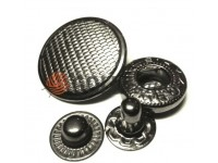 Кнопка Alfa Corf 20 мм темний нікель Китай, 50 шт