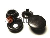 Button NEWstar №61 smooth 15 mm oxide Turkey, 72 pcs