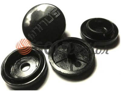 Button Minus №61 plastic 17 mm Turkey buy in Ukraine