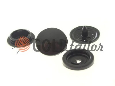 Кнопка NEWstar №61 пластикова 9,5 mm чорна Туреччина купити опт
