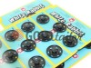 Button White Rabbit Sew metal black buy wholesale