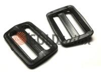 Обмежувач двохщілистий пластиковий 20 мм 30 мм 40 мм чорний