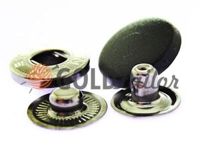 Кнопка NEWstar ALFA з чорною пластиковим капелюшком 15 mm, 17 mm, 20 mm Туреччина