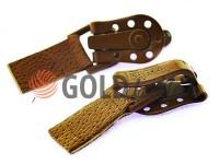 Застібка для шуб Keska коричневий