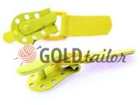 Застібка для шуб Keska жовтий