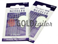 A set of professional hand needles Best 999-052 6 needles