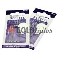 A set of professional hand needles Best 999-052 6 needles