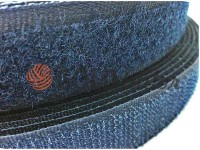 Velcro textile, color blue