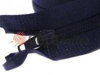 Zipper spiral type 5 on one slider 40 cm - 85 cm, blue 071