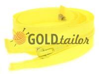 Блискавка спіральна тип 5 на один бігунок 40 см - 85 см, колір жовтий 029