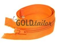 Блискавка спіральна тип 5 на один бігунок 40 см - 85 см, колір помаранчевий 319