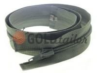 Zipper spiral type 5 on one slider 40 cm - 85 cm, gray 106