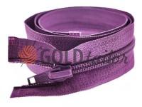 Блискавка спіральна тип 5 на один бігунок 40 см - 85 см, колір фіолетовий 249