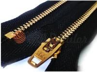 Блискавка джинсова YKK тип 4.5, довжина 10 см - 18 см, колір чорний