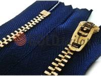 Блискавка джинсова YKK тип 4.5, довжина 10 см - 18 см, колір синій
