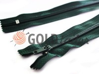 Zipper trousering spiral 18 cm type 4, color green 212