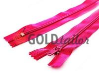 Блискавка брючна спіральна 18 см тип 4, колір рожевий 009