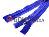 Молния брючная спиральная 18 см тип 4, цвет голубой 065