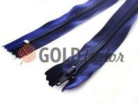 Zipper trousering spiral 18 cm type 4, color dark blue 071