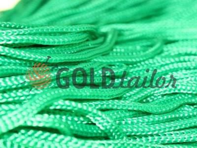 Шнур 5 мм в рулоні без наповнювача, колір зелений 080 оптом і вроздріб від 1 м