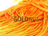 Cord for clothes 5 mm hollow, color orange 034