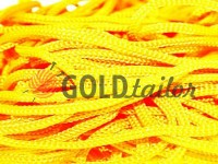 Cord for clothes 5 mm hollow, color yellow 029