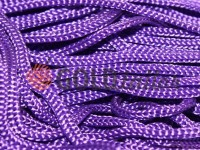 Шнур для одягу 5 мм пустотілий, колір фіолетовий 019
