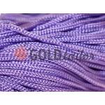 Шнур для одягу 5 мм пустотілий, колір фіолетовий 022