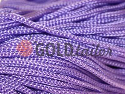 Шнур 5 мм в рулоні без наповнювача, колір фіолетовий 022 оптом і вроздріб від 1 м