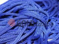 Шнур для одягу 5 мм пустотілий, колір блакитний 065