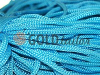 Cord for clothes 5 mm hollow, color blue 059