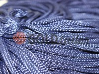 Cord for clothes 5 mm hollow, color dark blue 071