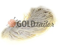 Cord for clothes 5 mm hollow, color beige 099