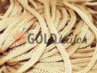 Шнур для одягу 5 мм пустотілий, колір бежевий 125