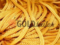 Cord for clothes 5 mm hollow, color beige 158